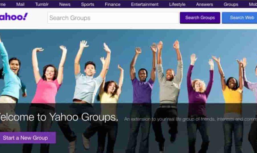 El fin de Yahoo Groups: Grupos de Yahoo, cerrará su servicio