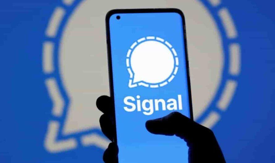 Registrarse en Signal